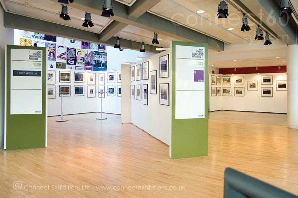 Walling Units, Walling Unit, Wall Units, Wall Unit in another exhibition of 'The Association of Photographers' in Sadlers Wells - London, they created multiple exhibition stands, and we did it for years, and then they dropped us! (photo gallery)