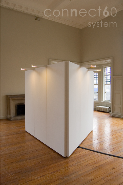 Connect Walls Partition Lighting Mobile Temporary