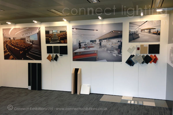 Sungard Exhibition Stand Lighting : Connect walls lighting systems mobile temporary